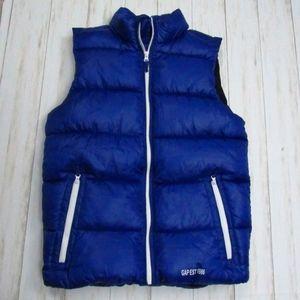 Gap Kids Royal Blue Puffer Vest XXL